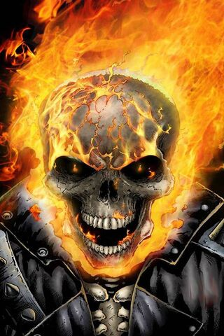 Fire Skull Wallpaper Download To Your Mobile From Phoneky