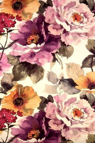 Flores apagadas