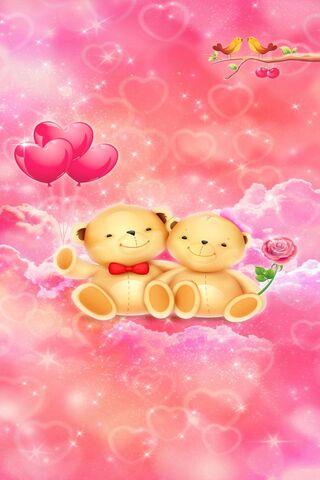 عيد الحب الدببة