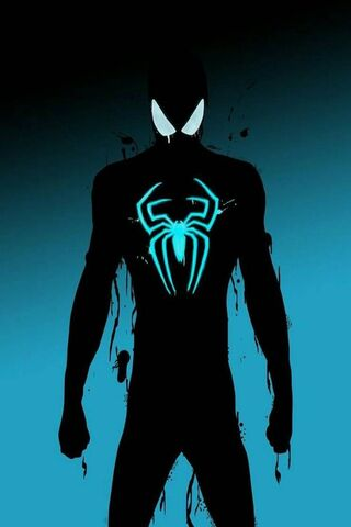 Néon sombre Spiderman