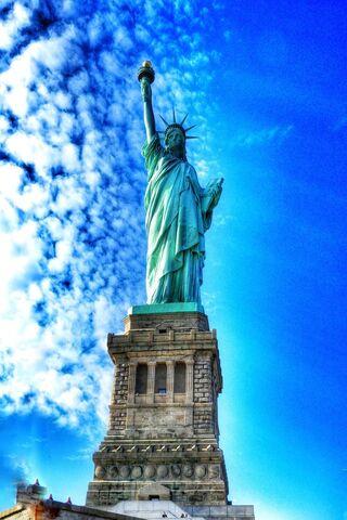 Phoneky تمثال الحرية في نيويورك Hd خلفيات