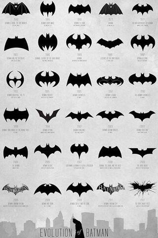 Evolution de Batman