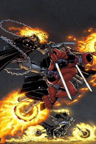 Ghost Rider Deadpool