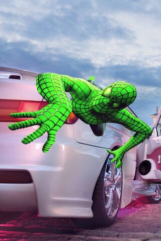 Зеленый Человек-Паук