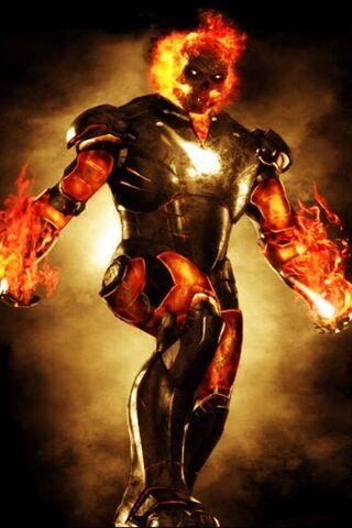 Iron Ghost Rider