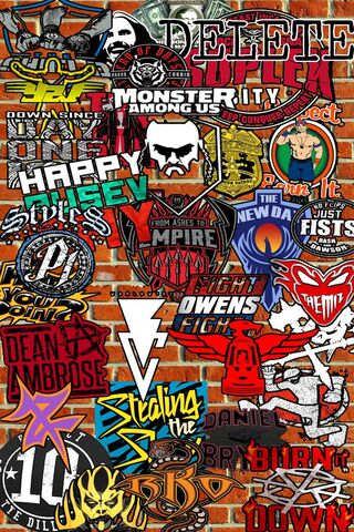 Wwe Sticker Bomb