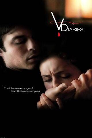Damon i Elena z randek wampirów