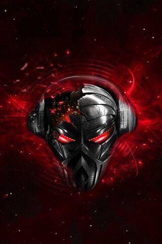 Robot Music Skull