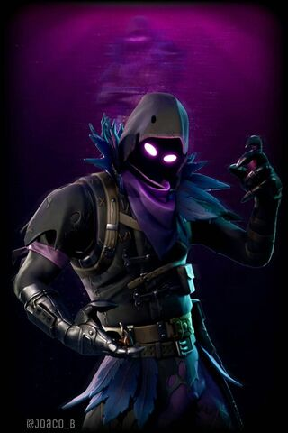 Fortnite Raven Wallpaper Download To Your Mobile From Phoneky
