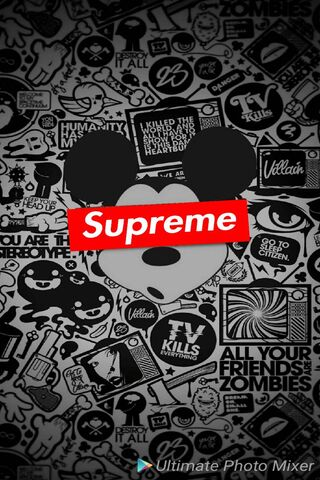 Supreme Mickey Mouse