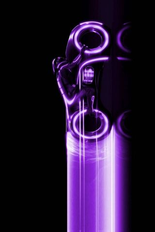 Purple Light Cycle