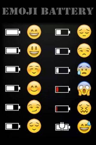Emoji Battery