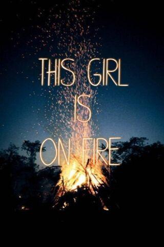 Dziewczyna w ogniu