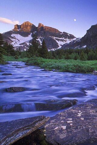 Тече річка