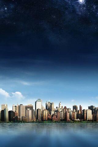 Skyline-Island-City