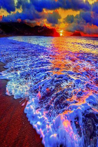 Evening Blue Ocean