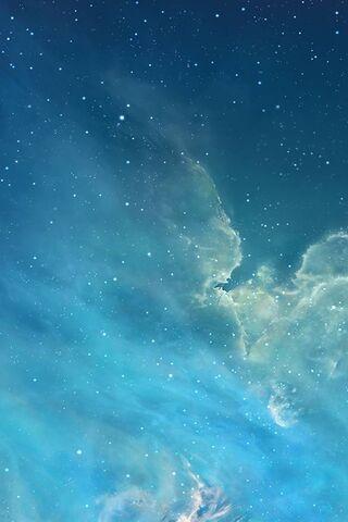 Bầu trời đêm Ios 7
