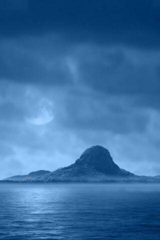 Landscape da ilha de Hd