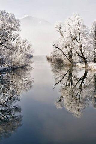 শীতকালীন নদী