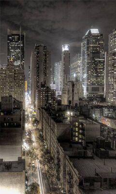 Nuit De New York Fond Décran Télécharger Sur Votre Mobile