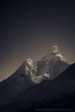 Night Time Mountain