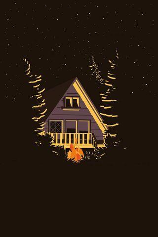 平野营森林