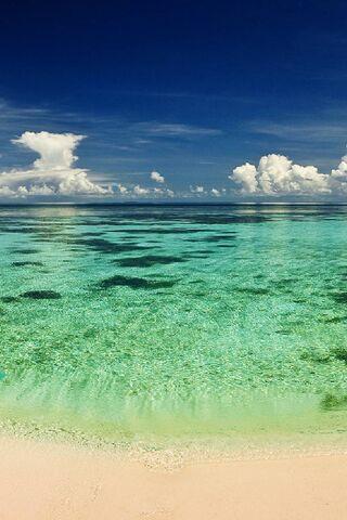 Strand Hd Hintergrund Lade Auf Dein Handy Von Phoneky Herunter