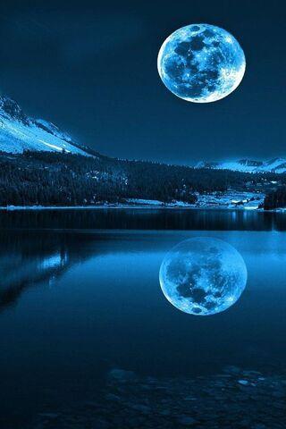 Mondlicht Nacht