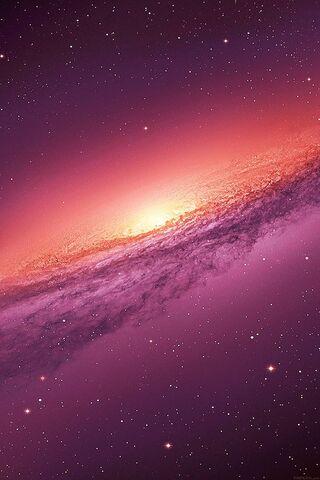 Galaxy Ungu
