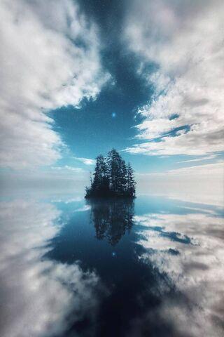 Céu da ilha