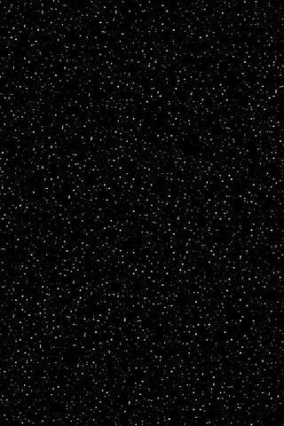 シンプルな星空