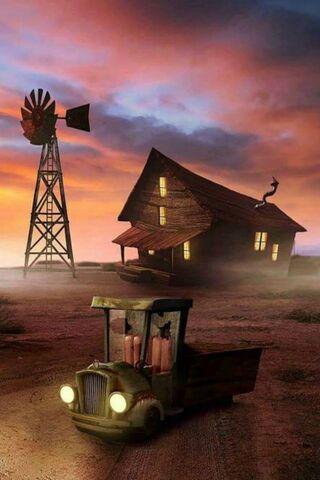 Horror Farm Iphone