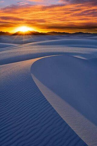 Sun Over Sand
