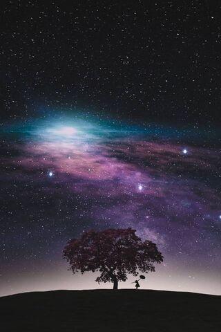 Phoneky النجوم في السماء Hd خلفيات