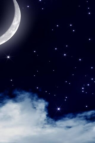Serene Night Sky