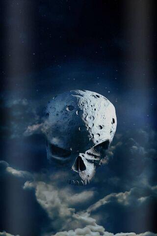 White Skull Moon