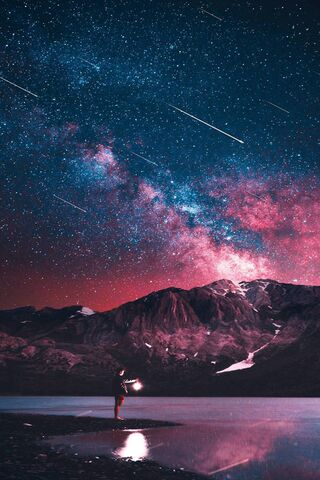 A Sky Full Of Stars Wallpaper Download To Your Mobile From Phoneky