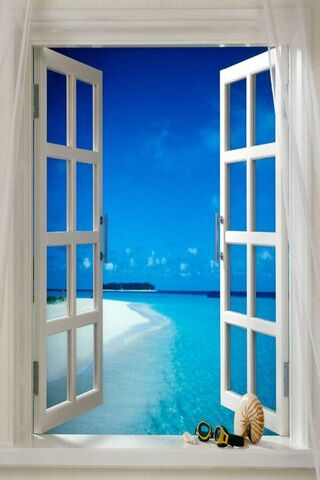 Window To Beach