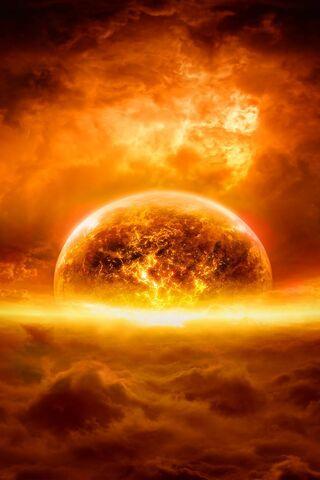 地球を燃やす