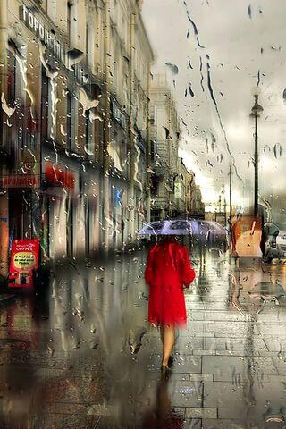 Red Girl Rain