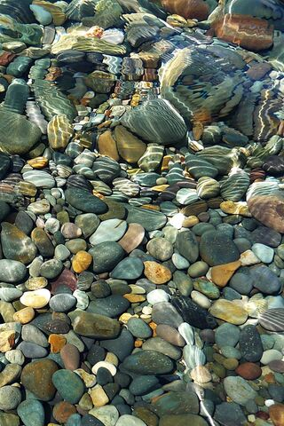 River End Pebbles