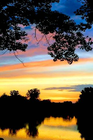 Rainbow Sunset