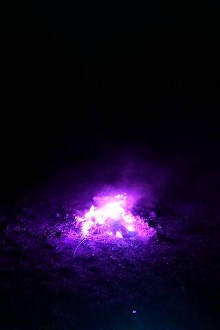 Fioletowy ogień