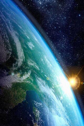 كوكب الأرض شمس