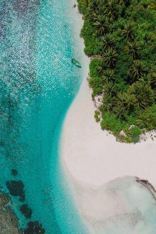 Maldives Bird View