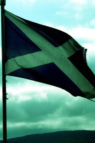 स्कॉटलैंड का झंडा