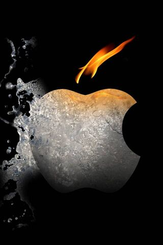 حريق ماء التفاح