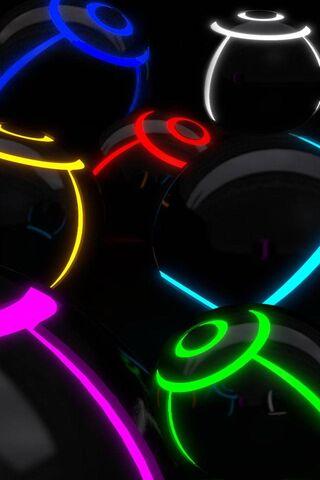 Neon Light Balls