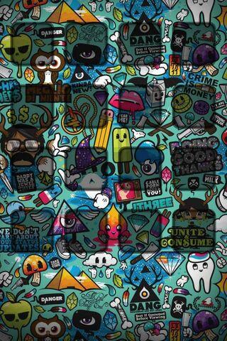 Graffiti Shelf