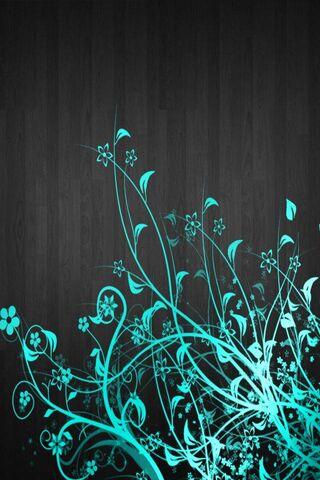 नीली फूल
